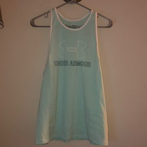 Under Armour mint green workout tank